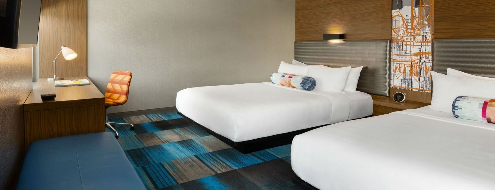 Dallas Accommodations - Aloft Double Queen Room